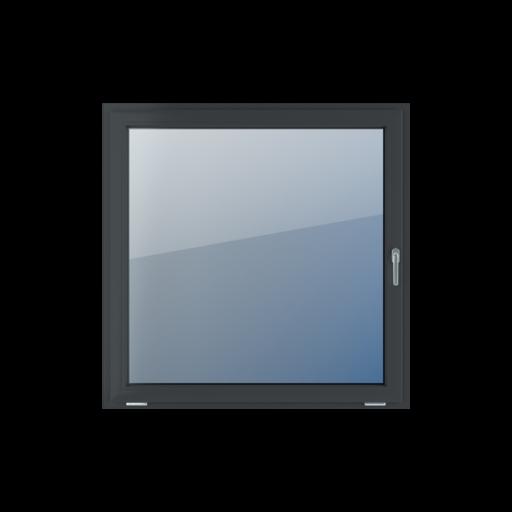 Typy okien 1-skrzydłowe Feneste