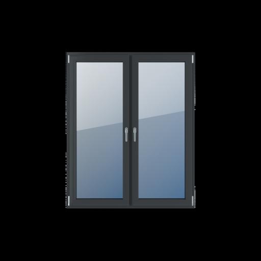 Typy okien balkonowe 2-skrzydłowe