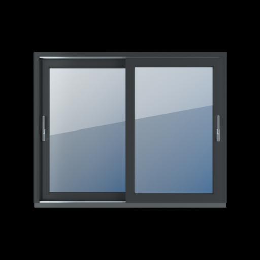 Kolory okien Aluplast Drzwi tarasowe przesuwne HST