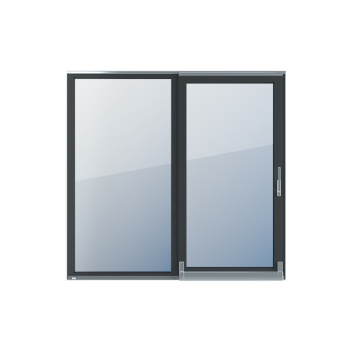 Kolory okien Aluplast Drzwi tarasowe przesuwne PSK