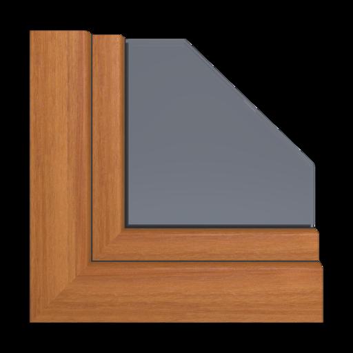 Kolory okien Veka Sheffield oak (grey)