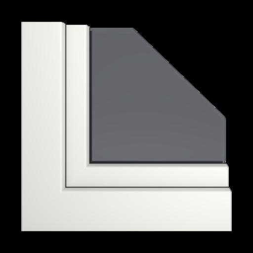 Kolory okien Veka Bazaltowo-szary