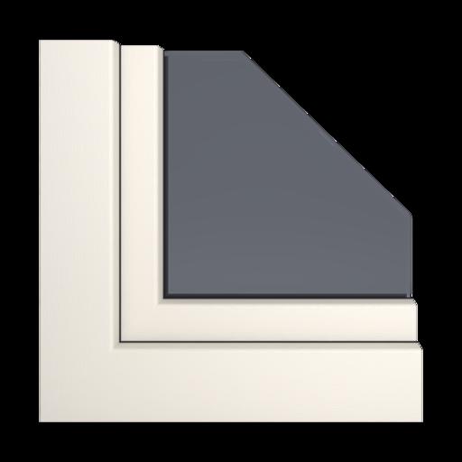 Kolory okien Veka Łupkowo-szary