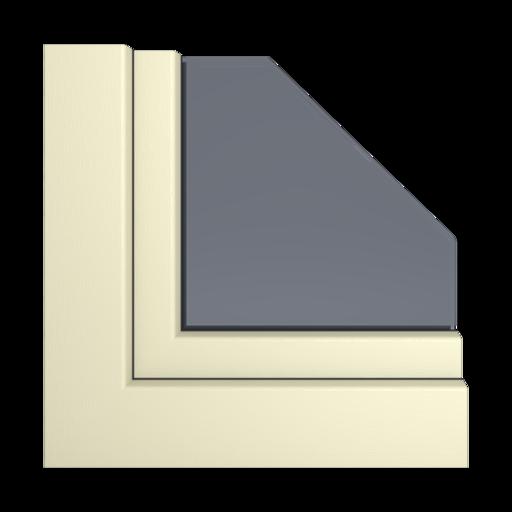 Kolory okien Veka Łupkowo-szary gładki