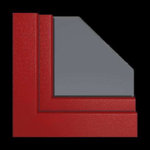 Kolory okien Veka Brylantowo-niebieski