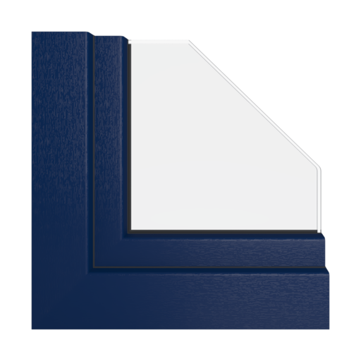 Kolory okien Veka Granatowy