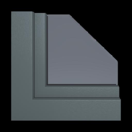 Kolory okien Veka Anthracite grey