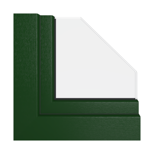 Kolory okien Veka Ciemnozielony