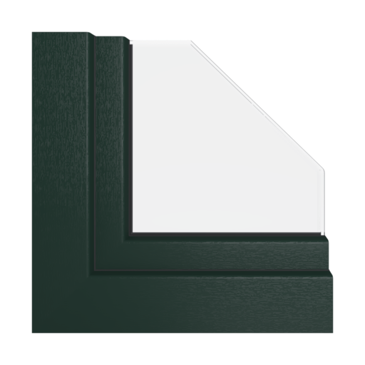 Kolory okien Veka Zielony monumentalny