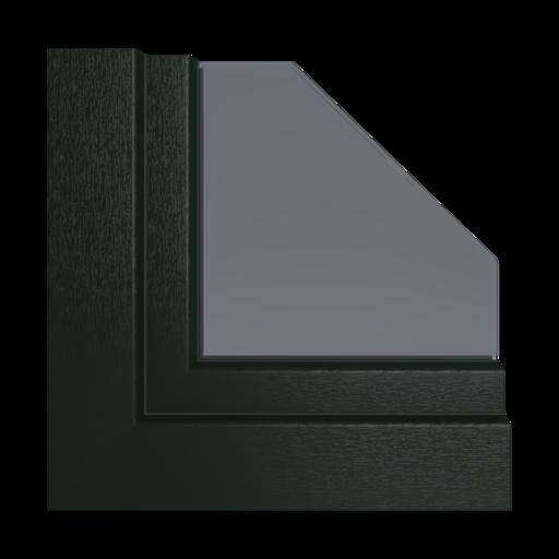 Kolory okien Veka Karminowo-czerwony