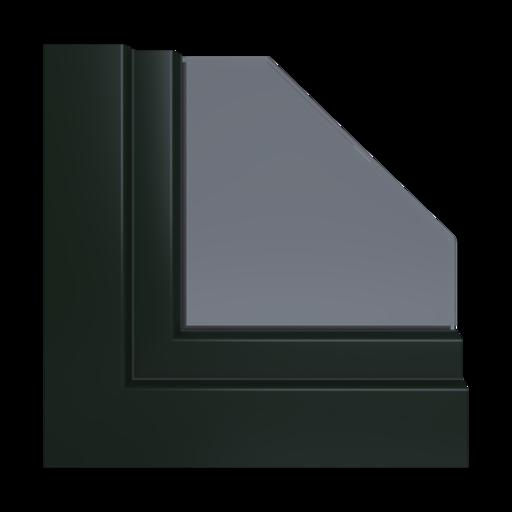 Kolory okien Veka Rubinowo-czerwony