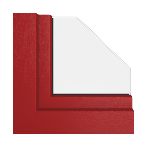 Kolory okien Veka Czerwono-brązowy
