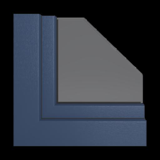 Kolory okien Veka Bordowy