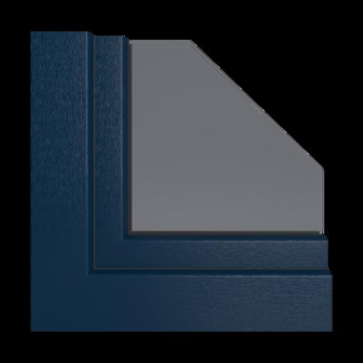 Kolory okien Veka Aluminium szczotkowane