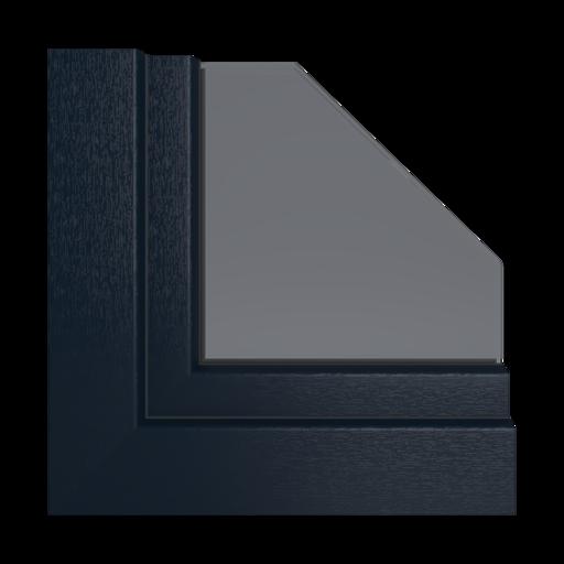 Kolory okien Veka Aluminium szczotkowane srebrne