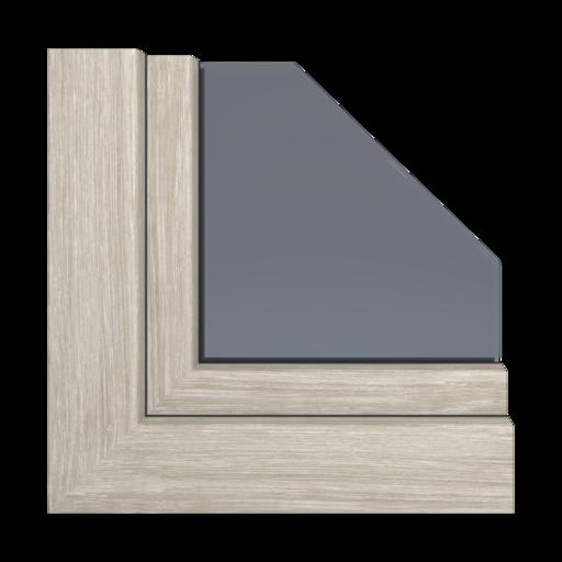 Kolory okien Aluplast Walnuss terra AP28