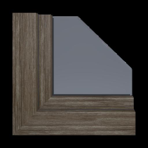 Kolory okien Aluplast Dąb specjalny AP01