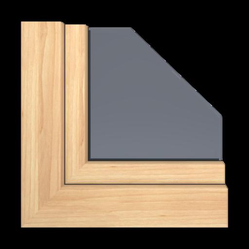 Kolory okien Aluplast Dąb sheffield szary AP94