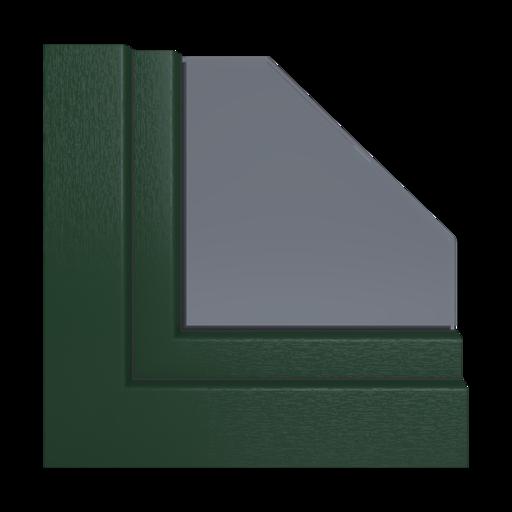 Kolory okien Aluplast Szary bazaltowy AP102