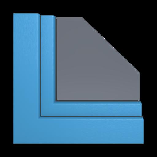 Kolory okien Aluplast Szary kwarcowy piaskowany AP65