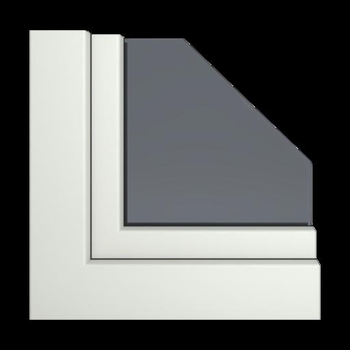 Kolory okien Aluplast Szary betonowy AP70