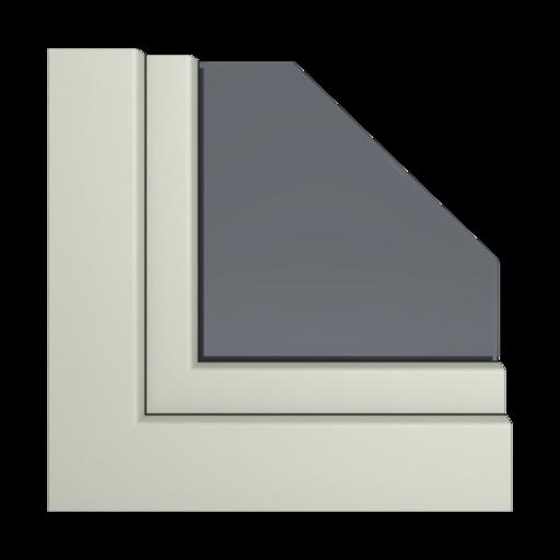 Kolory okien Aluplast Szary agatowy AP71