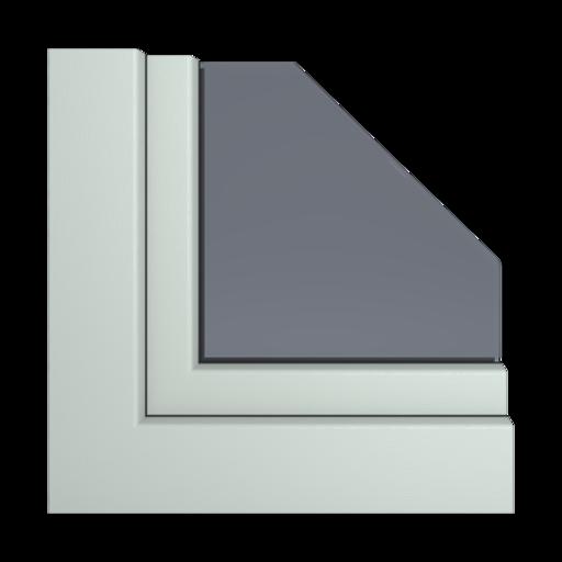 Kolory okien Aluplast Szary AP34