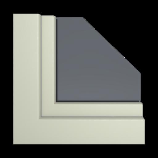 Kolory okien Aluplast Popielaty AP103