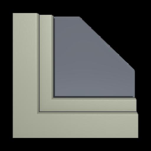 Kolory okien Aluplast Czekoladowy brąz AP104