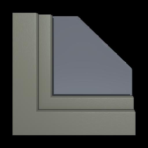 Kolory okien Aluplast Brylantowy niebieski AP47
