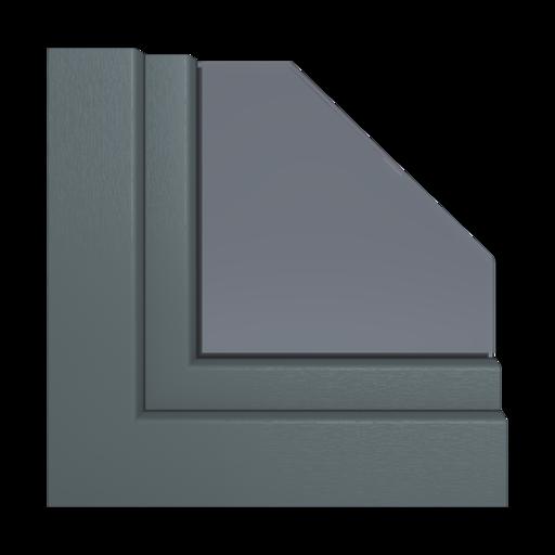Kolory okien Aluplast Antracytowy AP40
