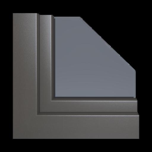 Kolory okien Aluplast Stalowy niebieski AP41