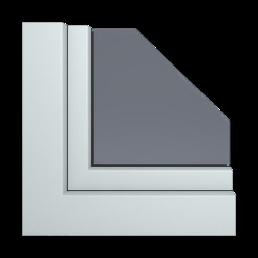 Kolory okien Aluplast Ciemnozielony woodgrain AP113
