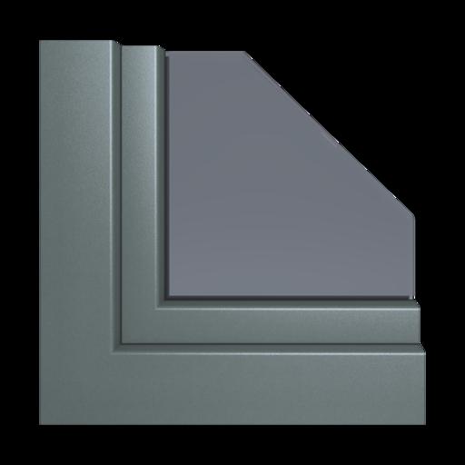 Kolory okien Aluplast Palisander AP33