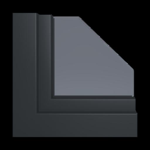 Kolory okien Aluplast Silver Alux AP107