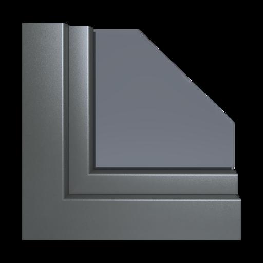 Kolory okien Aluplast Ciemnobrązowy x-brush AP108