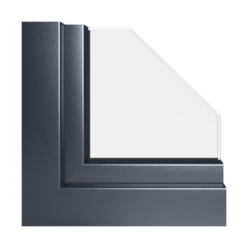 Kolory okien Aluplast Stalowoniebieski x-brush AP111
