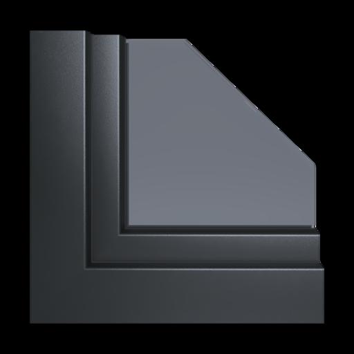 Kolory okien Aluplast Grey Concrete AP115