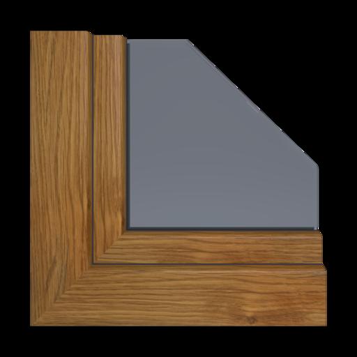 Kolory okien Aluplast Mahoń AP05