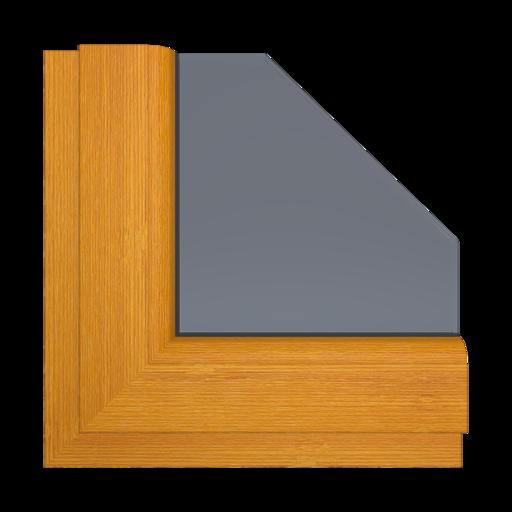 Okna Kolory Aluplast Sheffield Oak Alpine AP20 Wewnętrzny