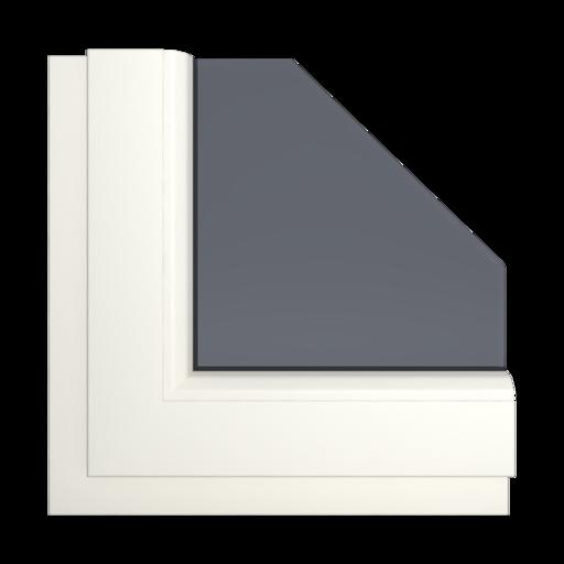 Okna Kolory Aluplast Golden AP110 Wewnętrzny