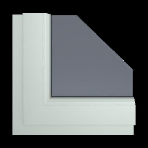 Okna Kolory Aluplast Szary AP34 Wewnętrzny