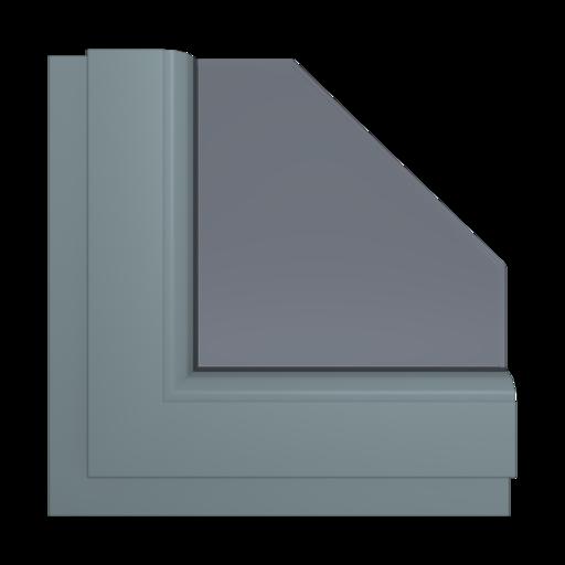 Okna Kolory Aluplast Trompet C-32 AP105 Wewnętrzny
