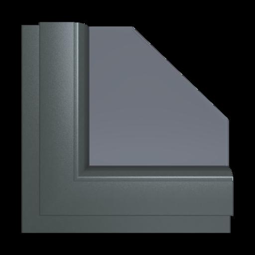 Okna Kolory Aluplast Alux DB AP79 Wewnętrzny