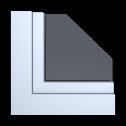 Kolory okien Salamander Biały