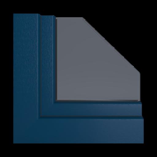 Kolory okien Salamander Stalowoniebieski 11