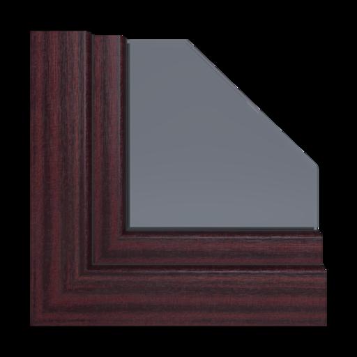 Kolory okien Salamander Mahoń 26