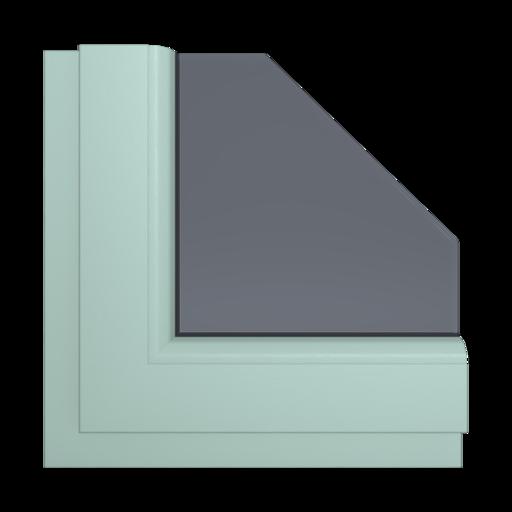Okna Kolory Salamander Agat 72 Wewnętrzny