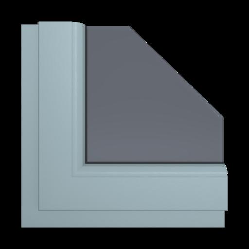 Okna Kolory Salamander Szary 2 Wewnętrzny