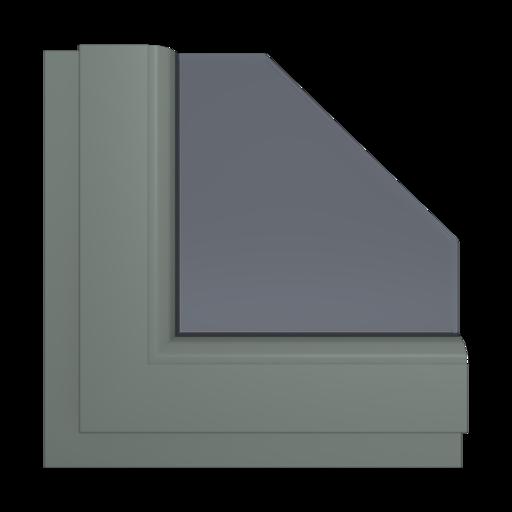 Okna Kolory Salamander Kwarc Satin 90 Wewnętrzny